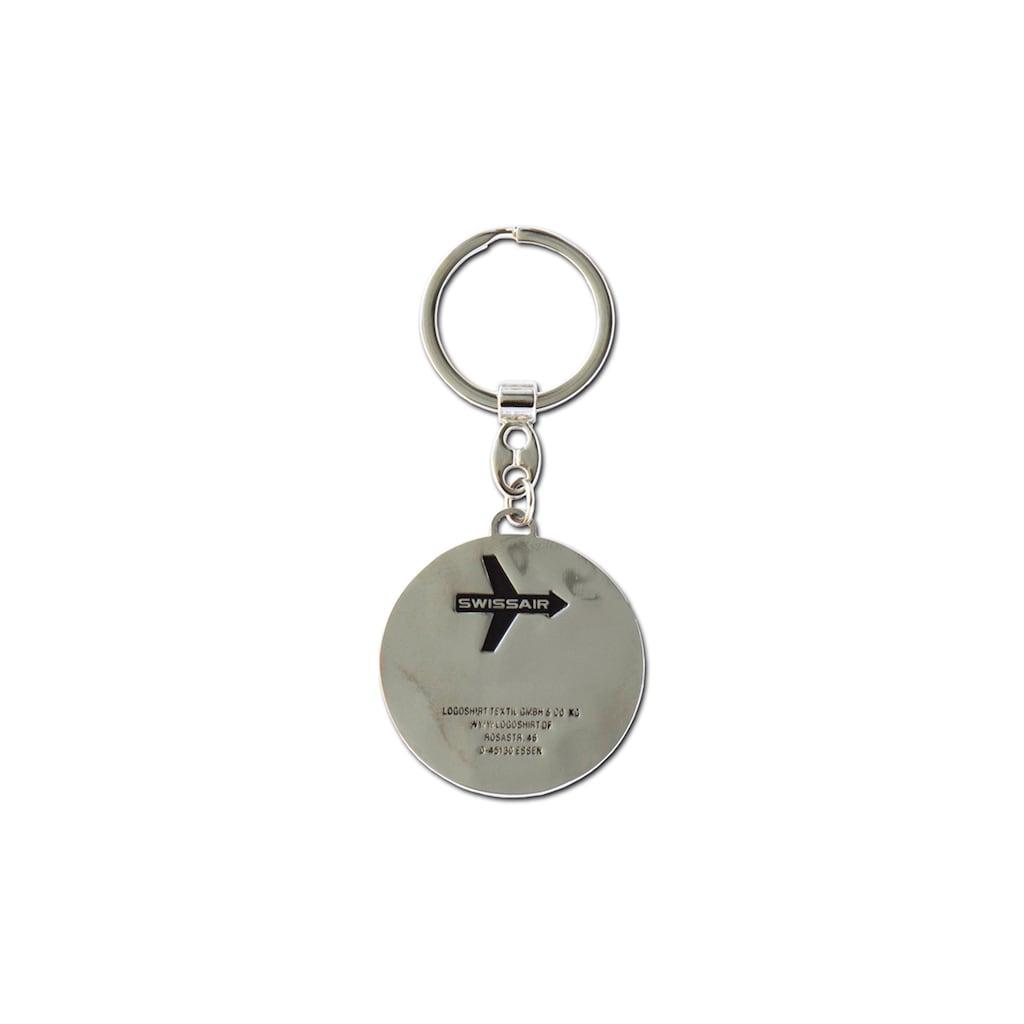 LOGOSHIRT Schlüsselanhänger mit Swissair-Logo