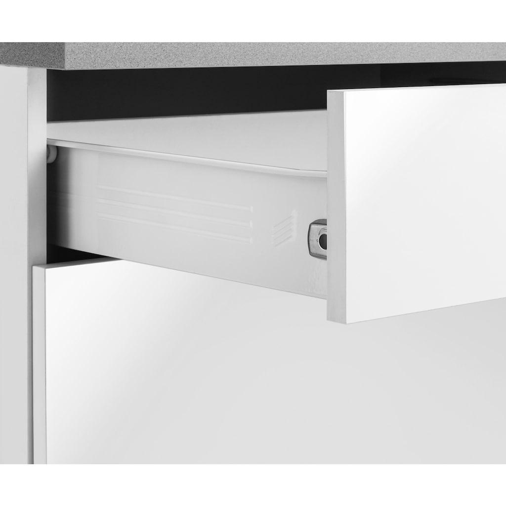wiho Küchen Unterschrank »Cali«, 90 cm breit, mit 2 großen Auszügen