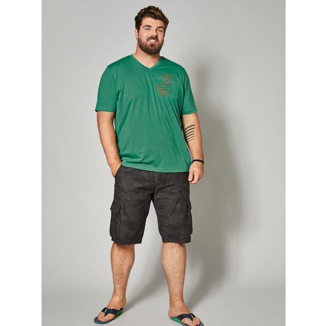 Men Plus by Happy Size Cargo-Bermuda