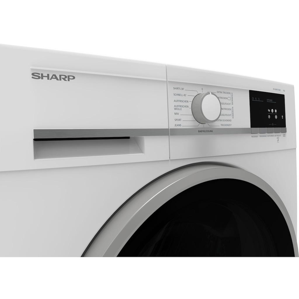 Sharp Wärmepumpentrockner KD-GHB7S7GW2-DE, 7 kg