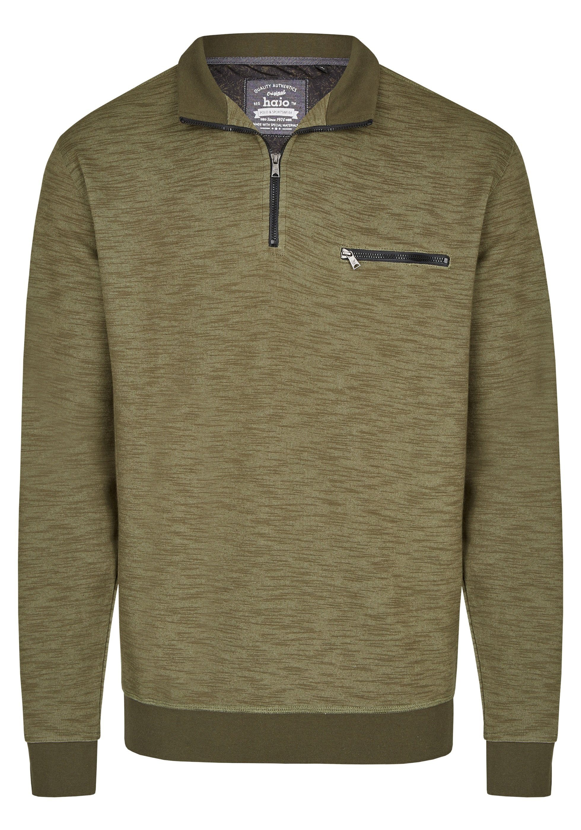 Hajo H Sweatshirt ´´Stay Fresh´´   Bekleidung > Sweatshirts & -jacken > Sweatshirts   Grün   Polyester   HAJO