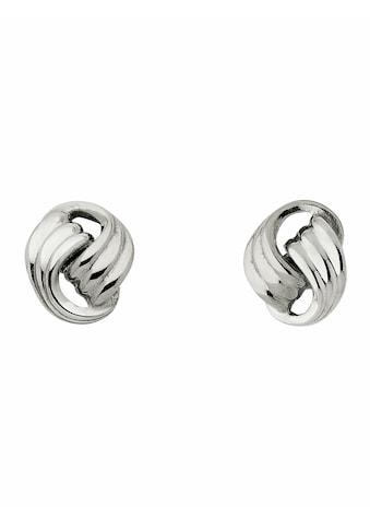 Adelia´s Paar Ohrstecker »333 Weißgold Ohrringe / Ohrstecker«, Goldschmuck für Damen kaufen