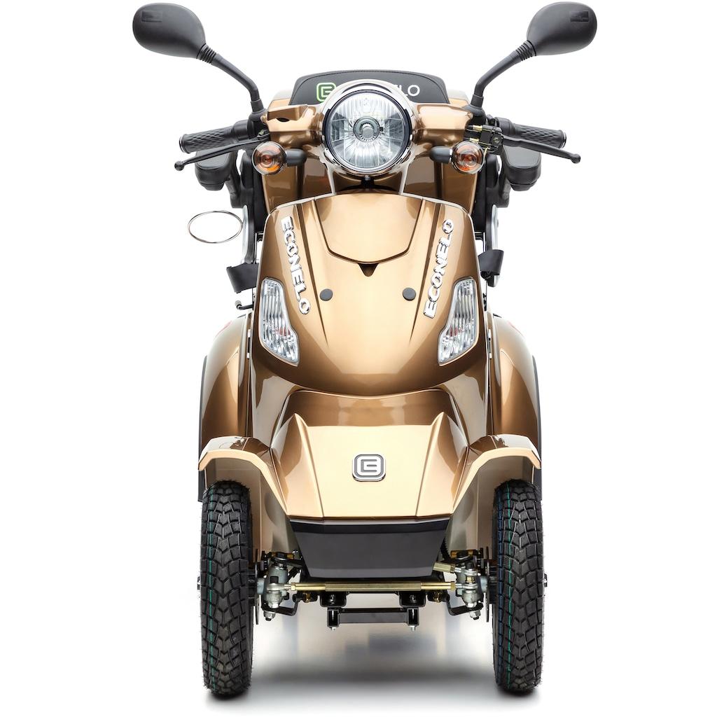 ECONELO Elektromobil »JL 4000«, 1000 W, 25 km/h, (mit Topcase)