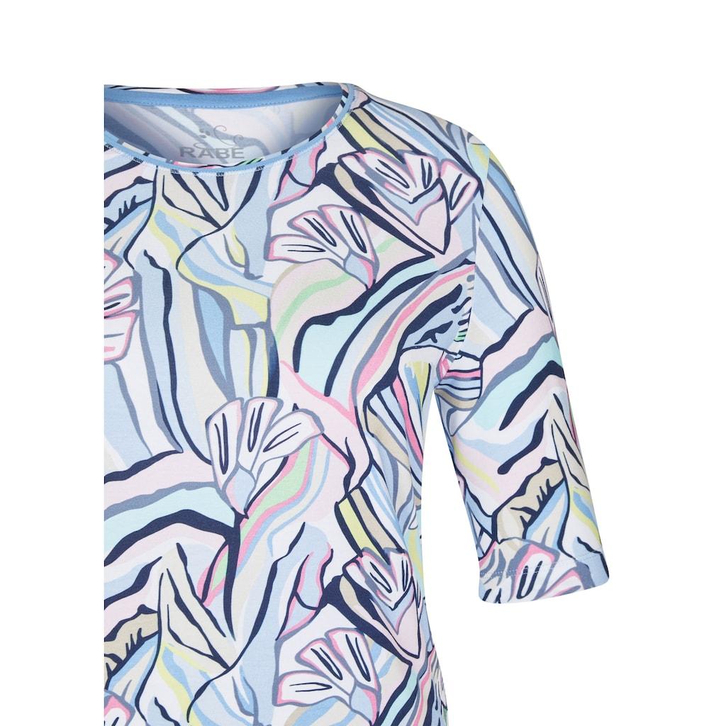 Rabe T-Shirt, mit buntem Muster