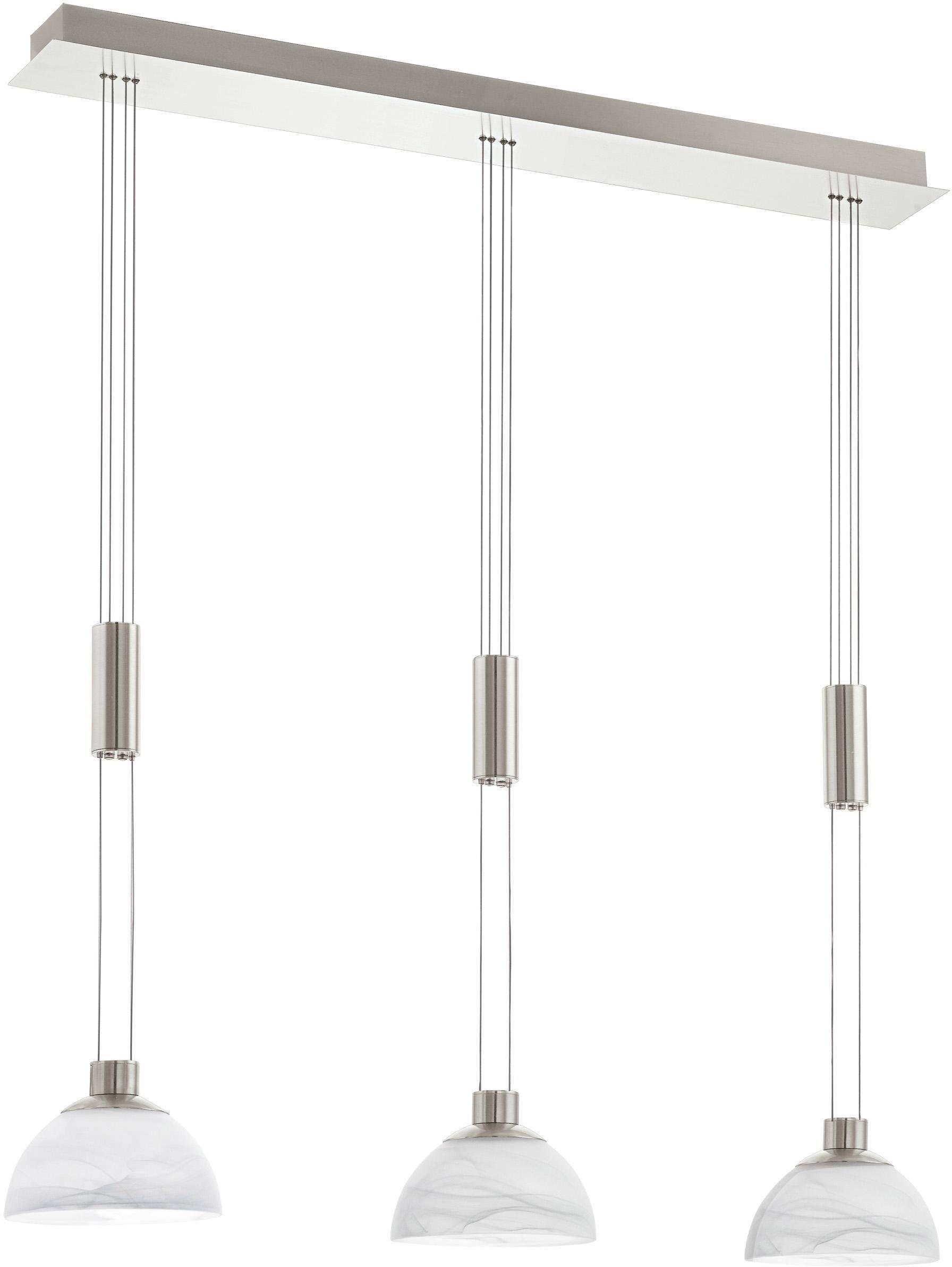 EGLO Pendelleuchte MONTEFIO, LED-Board, Warmweiß, Hängeleuchte, LED tauschbar, höhenverstellbar