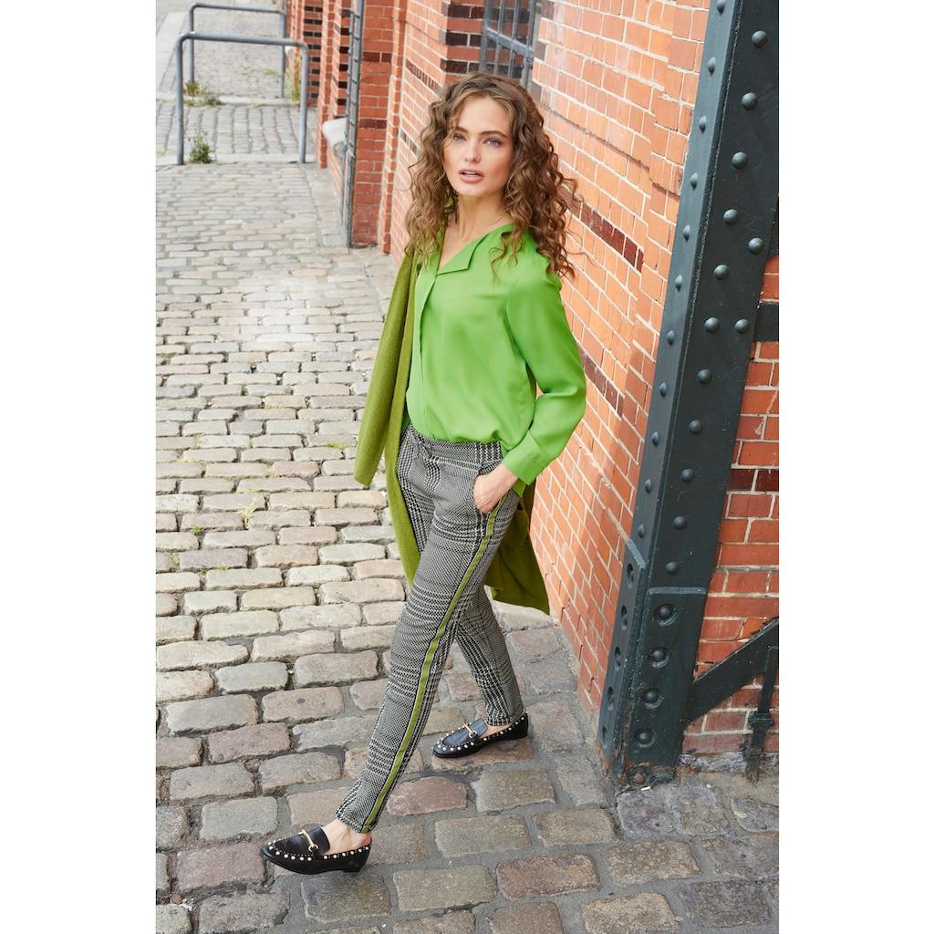 Aniston CASUAL Schlupfhose, mit gestreiften Galonstreifen