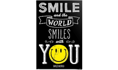 Reinders! Poster »Smiley world smiles with you«, (1 St.) kaufen
