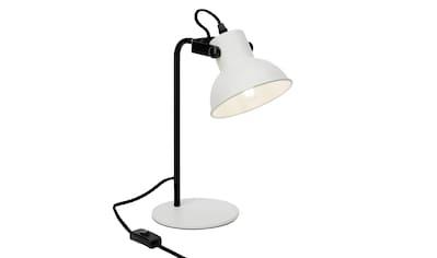 Brilliant Leuchten Ester Tischleuchte weiß matt/schwarz kaufen