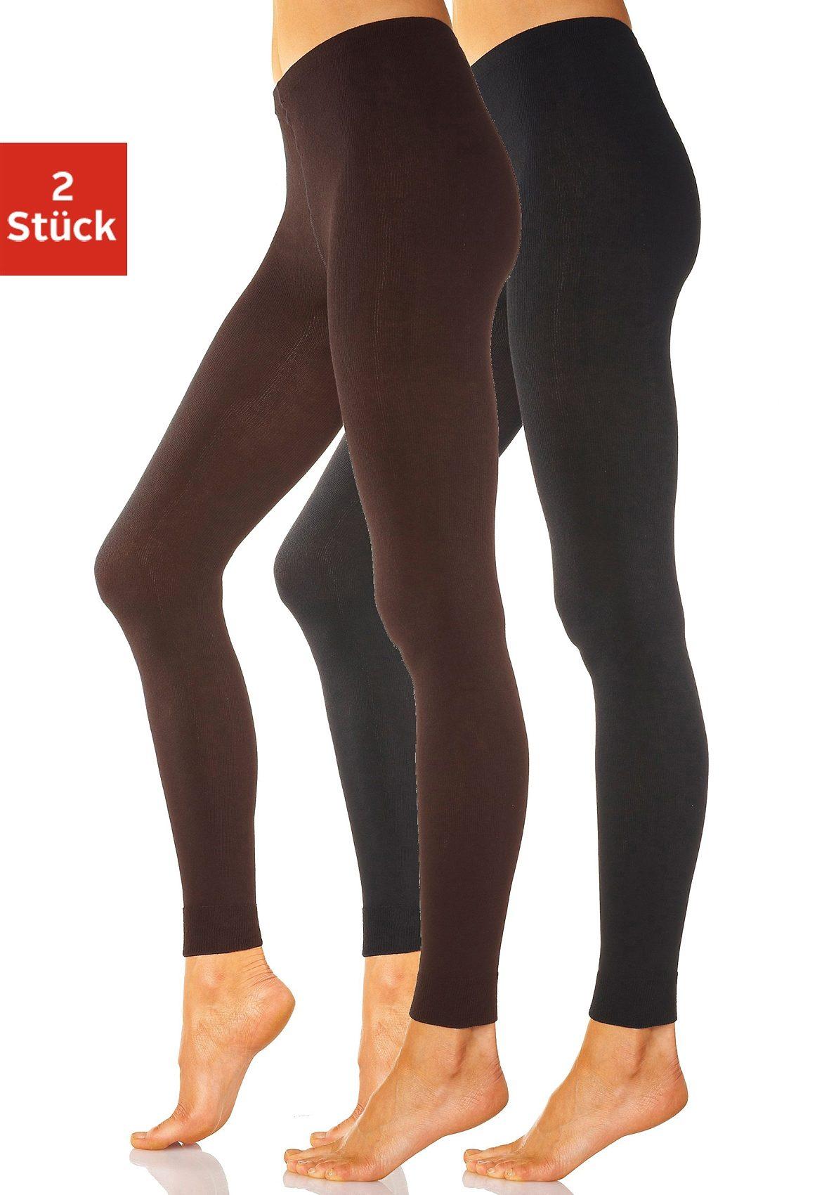 Lavana Strickleggings (Packung 2 Stück) | Unterwäsche & Reizwäsche > Strumpfhosen > Strickleggings | Lavana