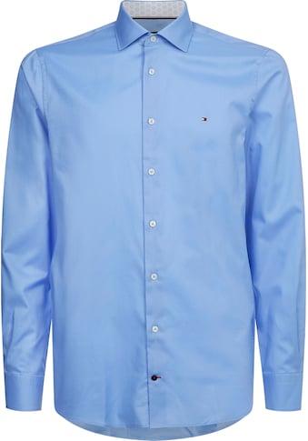 TOMMY HILFIGER Langarmhemd »TWILL SLIM SHIRT« kaufen