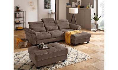 Premium collection by Home affaire Ecksofa »Solvei«, mit Recamierenabschluß und... kaufen