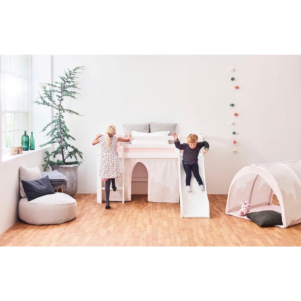 Hoppekids Hochbett »Winter Wonderland«, (Set), inkl. Rutsche