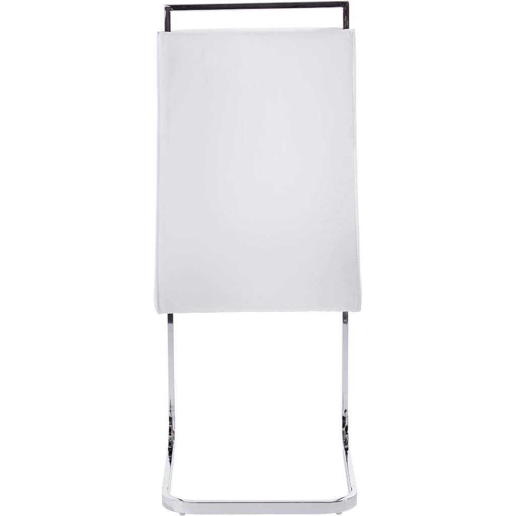 Homexperts Esszimmerstuhl »Corona«, (2 oder 4 Stück), Bezug in Kunstleder