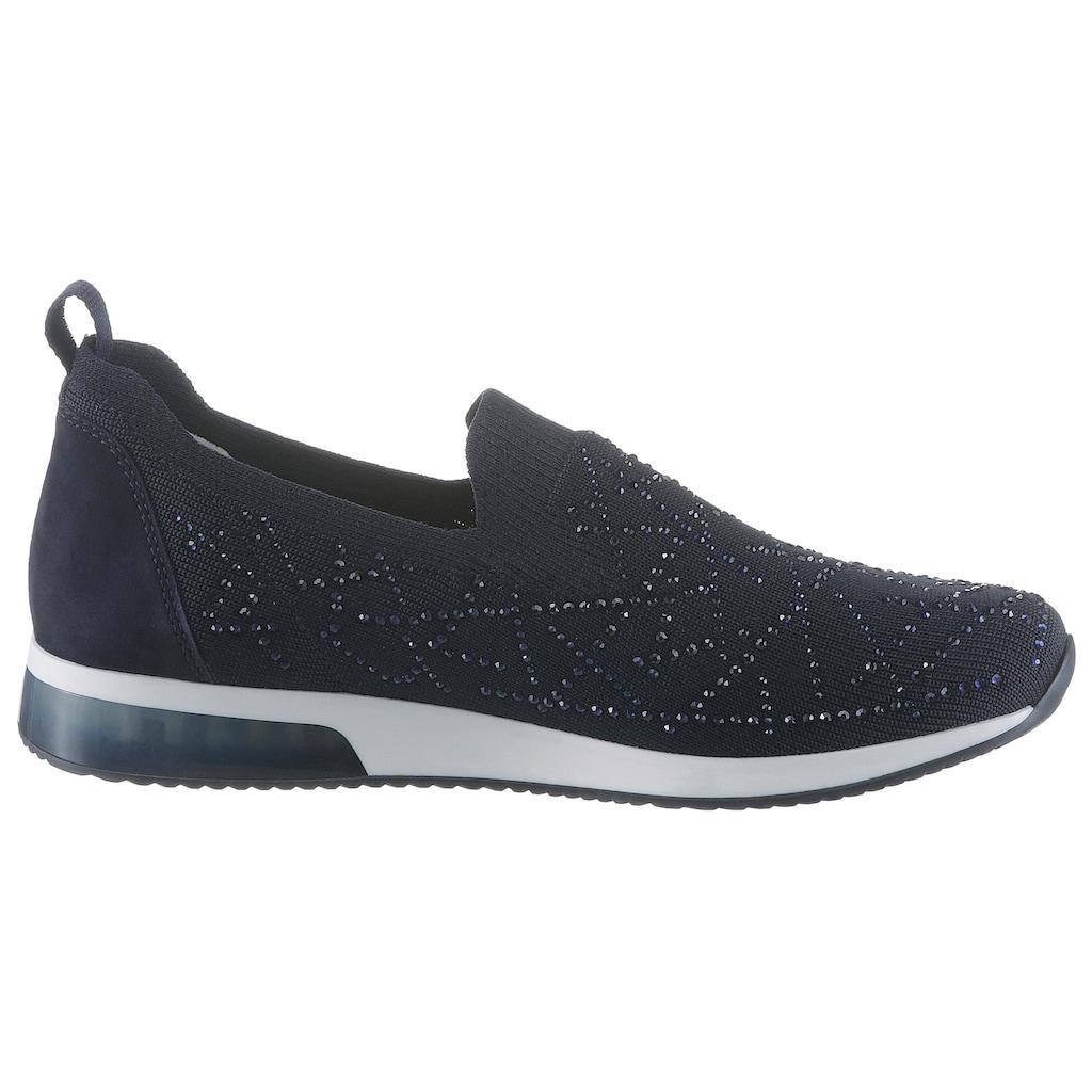 Ara Slip-On Sneaker »LISSABON«, aus der aktuellen Let´s Dance Kollektion by Frauke Ludowig