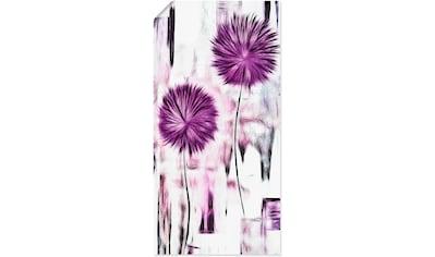 Artland Wandbild »Blumen«, Blumen, (1 St.), in vielen Größen & Produktarten - Alubild / Outdoorbild für den Außenbereich, Leinwandbild, Poster, Wandaufkleber / Wandtattoo auch für Badezimmer geeignet kaufen