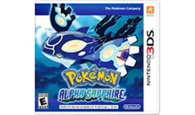 Nintendo 3DS Spiel »Pokémon Alpha Saphir«, Nintendo 3DS kaufen