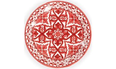 Q Squared NYC Dessertteller »Talavera Collection«, (Set, 4 St.), Ø 20 cm, Melamin kaufen