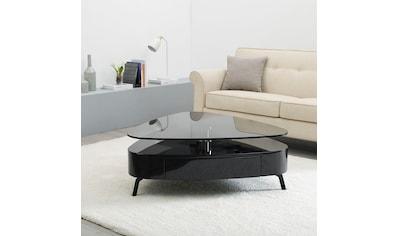 andas Couchtisch »Edla«, Design by Morten Georgsen, drehbare Tischplatte, in 2... kaufen