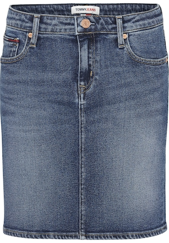 Tommy Jeans Jeansrock »CLASSIC DENIM SKIRT AMBS«, mit Tommy Jeans Logo-Badge & Flag kaufen