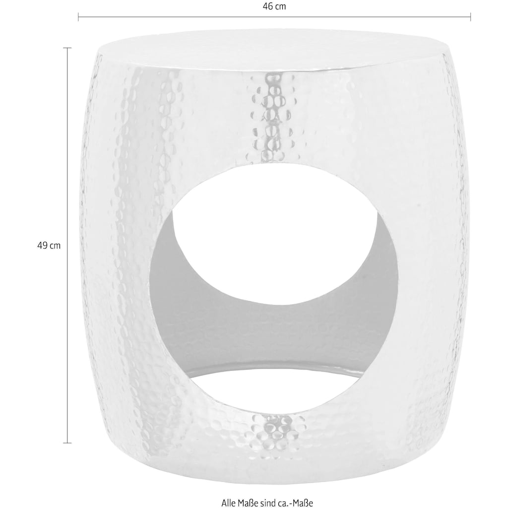 Leonique Couchtisch »Velp«, mit rundem Hohlraum in der Mitte, für eine besondere Optik
