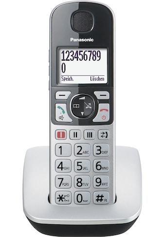 Panasonic »KX - TGE510« Seniorentelefon (Mobilteile: 1) kaufen