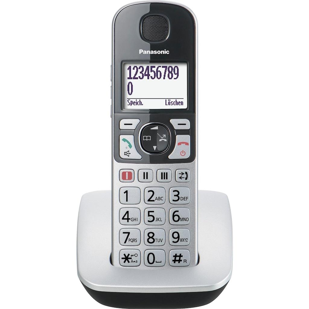 Panasonic Seniorentelefon »KX-TGE510«, (Mobilteile: 1)