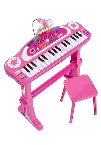 SIMBA Spielzeug-Musikinstrument »Keyboard mit Stuhl, pink« kaufen