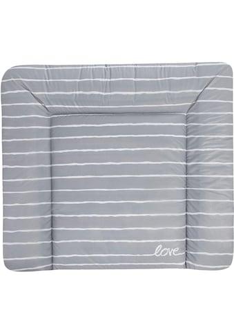 Julius Zöllner Wickelauflage »Softy - Grey Stripes«, Made in Germany kaufen