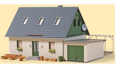 Auhagen Modelleisenbahn-Gebäude »Einfamilienhaus mit Garage«, Made in Germany kaufen