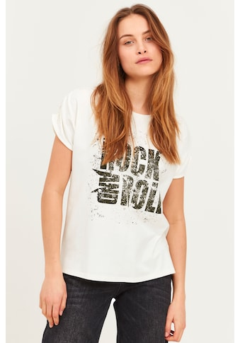 Pulz Jeans T-Shirt »PZJANICA T-shirt 50206192«, Schickes T-Shirt mit Print kaufen