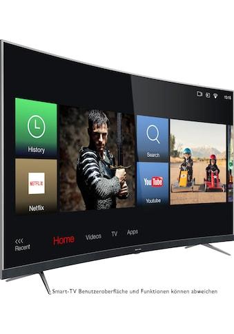 Thomson 55UD6696 Curved - LED - Fernseher (139 cm / (55 Zoll), 4K Ultra HD, Smart - TV kaufen