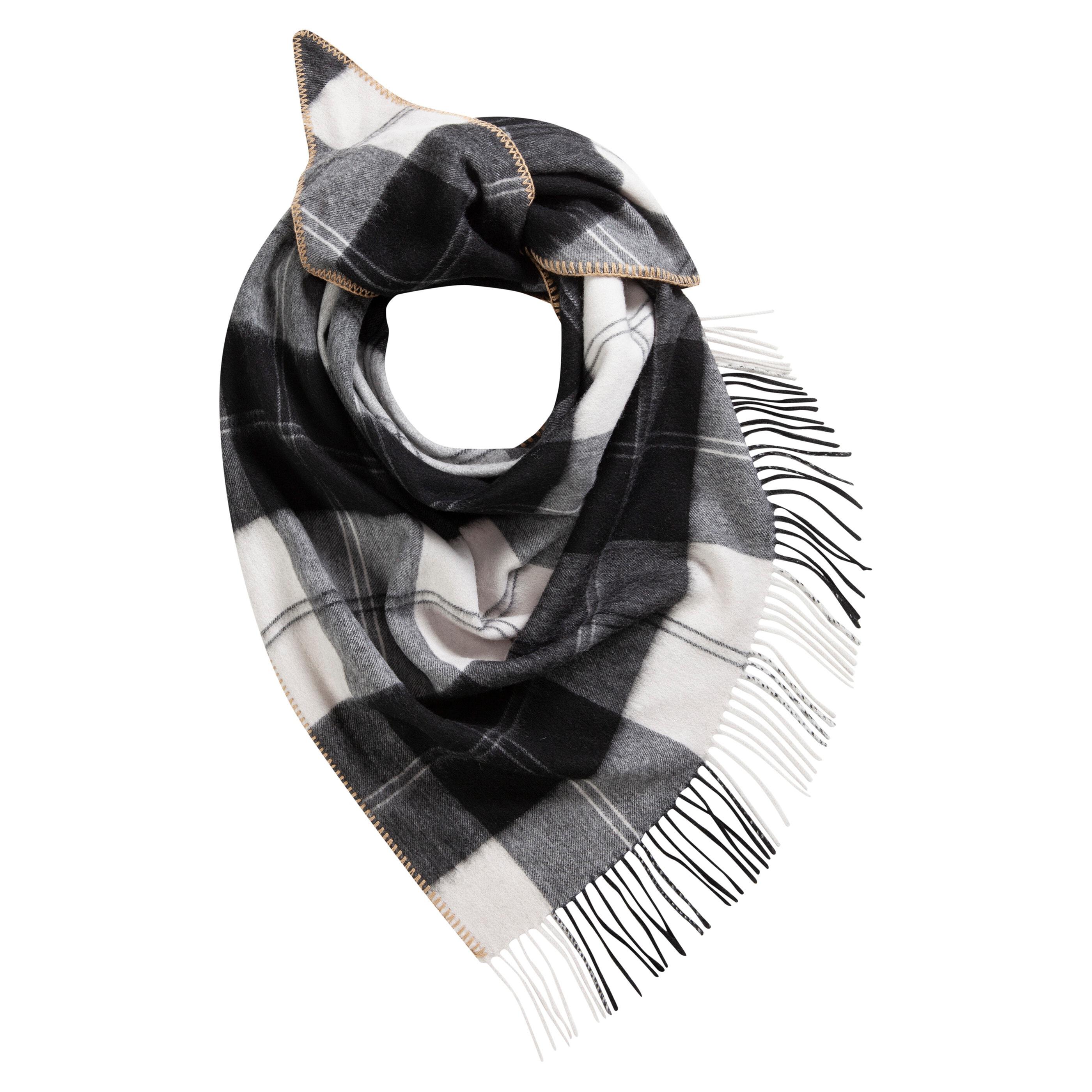 Codello Dreieckstuch, aus reiner Wolle schwarz Damen Dreieckstuch