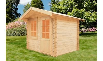 WOLFF FINNHAUS Gartenhaus »Caroline 28«, BxT: 290x270 cm kaufen