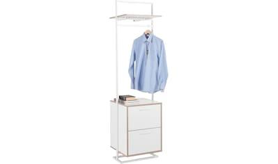 andas Garderobenständer »Isere«, mit 2 Schubladen und 1 oberen Ablageboden kaufen