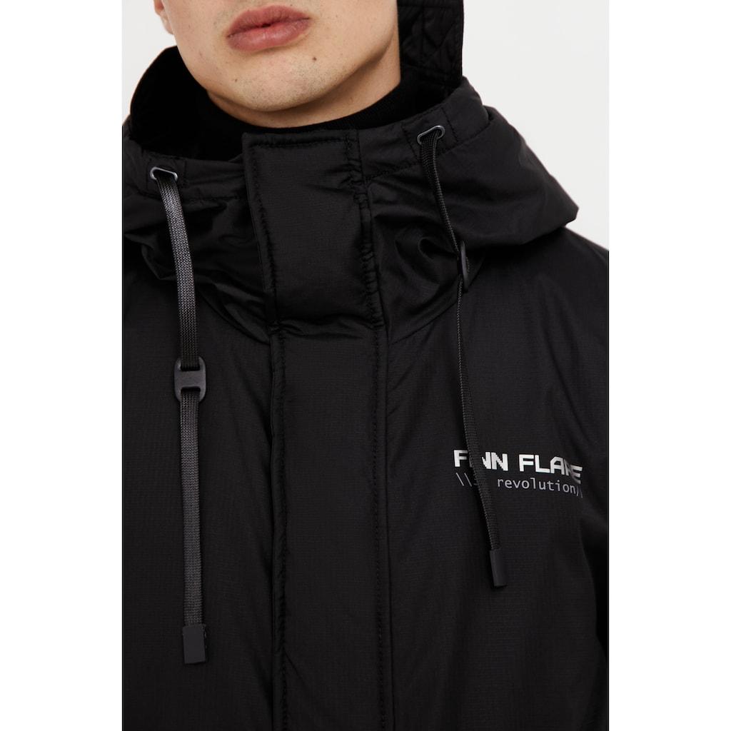Finn Flare Kurzmantel, mit warmer Kapuze