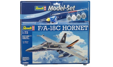 "Revell® Modellbausatz ""Model Set  -  F/A - 18C Hornet"", Maßstab 1:72, (Set) kaufen"