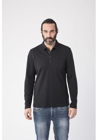 SUPER.NATURAL Poloshirt »M WAYFARER LS POLO«, feinster Merino-Materialmix kaufen