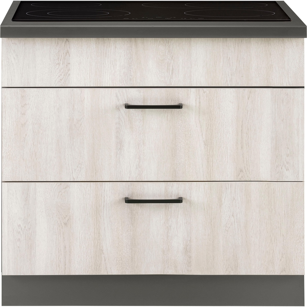 wiho Küchen Kochfeldumbauschrank »Esbo«, 90 cm breit