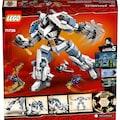 LEGO® Konstruktionsspielsteine »Zanes Titan-Mech (71738), LEGO® NINJAGO®«, (840 St.), Made in Europe