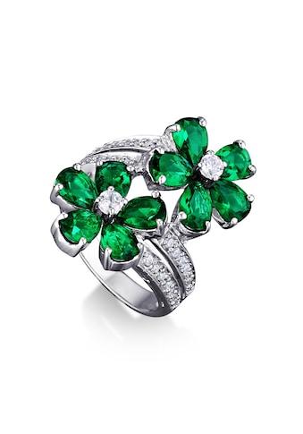 MONA MON'AMOUR Ring »925/ -  Sterling Silber rhodiniert Zirkonia grün« kaufen
