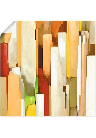 Artland Wandbild »Monument I«, Muster, (1 St.), in vielen Größen & Produktarten -... kaufen