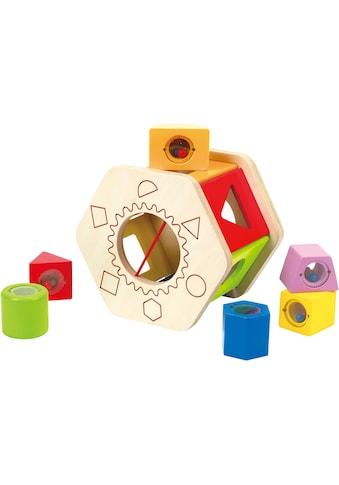 Hape Steckspielzeug »Sortierbox Shake und Match« kaufen