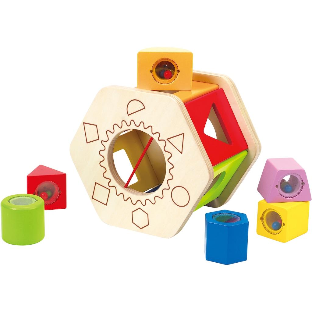 Hape Steckspielzeug »Sortierbox Shake und Match«