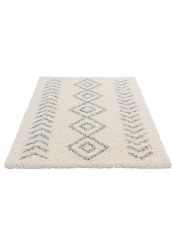 Sehrazat Hochflor-Teppich »Ethno 8685«, rechteckig, 30 mm Höhe, weiche Haptik, Wohnzimmer kaufen