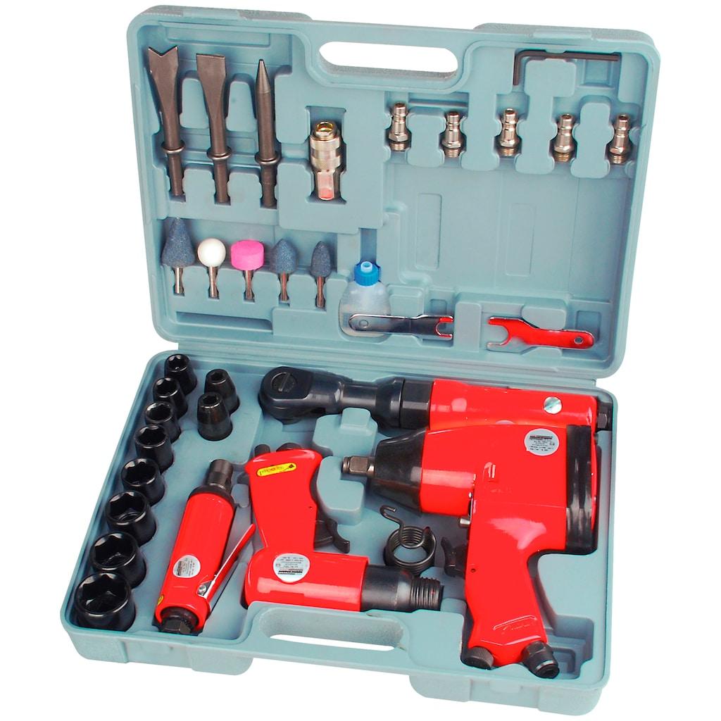 Brüder Mannesmann Werkzeuge Werkzeugset, (33 St.), Druckluft-Set