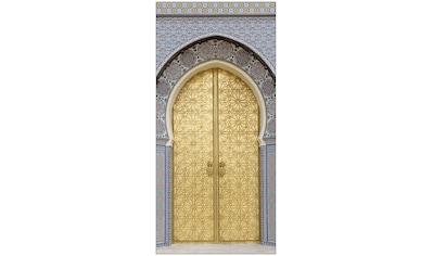 MySpotti Spritzschutz »fresh F3 Ancient Door«, 100 x 210 cm kaufen