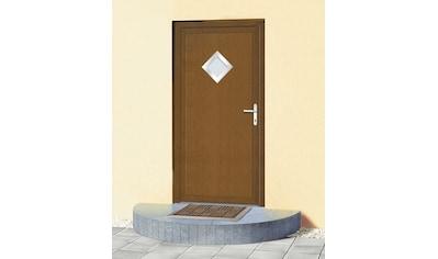 KM MEETH ZAUN GMBH Mehrzweck - Haustür »KT32«, BxH: 108 x 208 cm, braun, in 2 Varianten kaufen