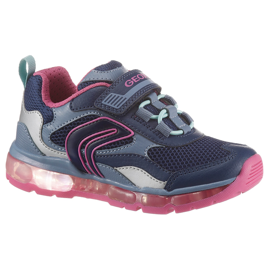 Geox Kids Sneaker »ANDROID«, mit ein- und ausschaltbarer Blinkfunktion