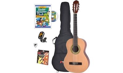 Voggenreiter Kindergitarre »Voggys Kindergitarren-Set«, 3/4 kaufen
