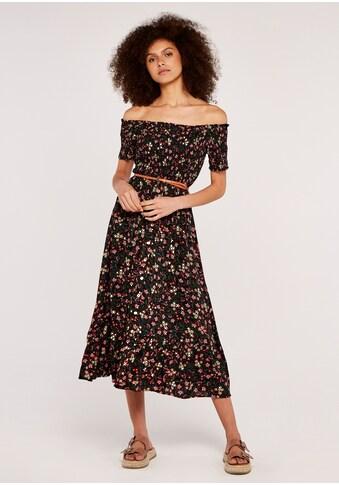 Apricot Maxikleid »Morris Wildflower Bardot Dress«, mit Bardot-Ausschnitt kaufen